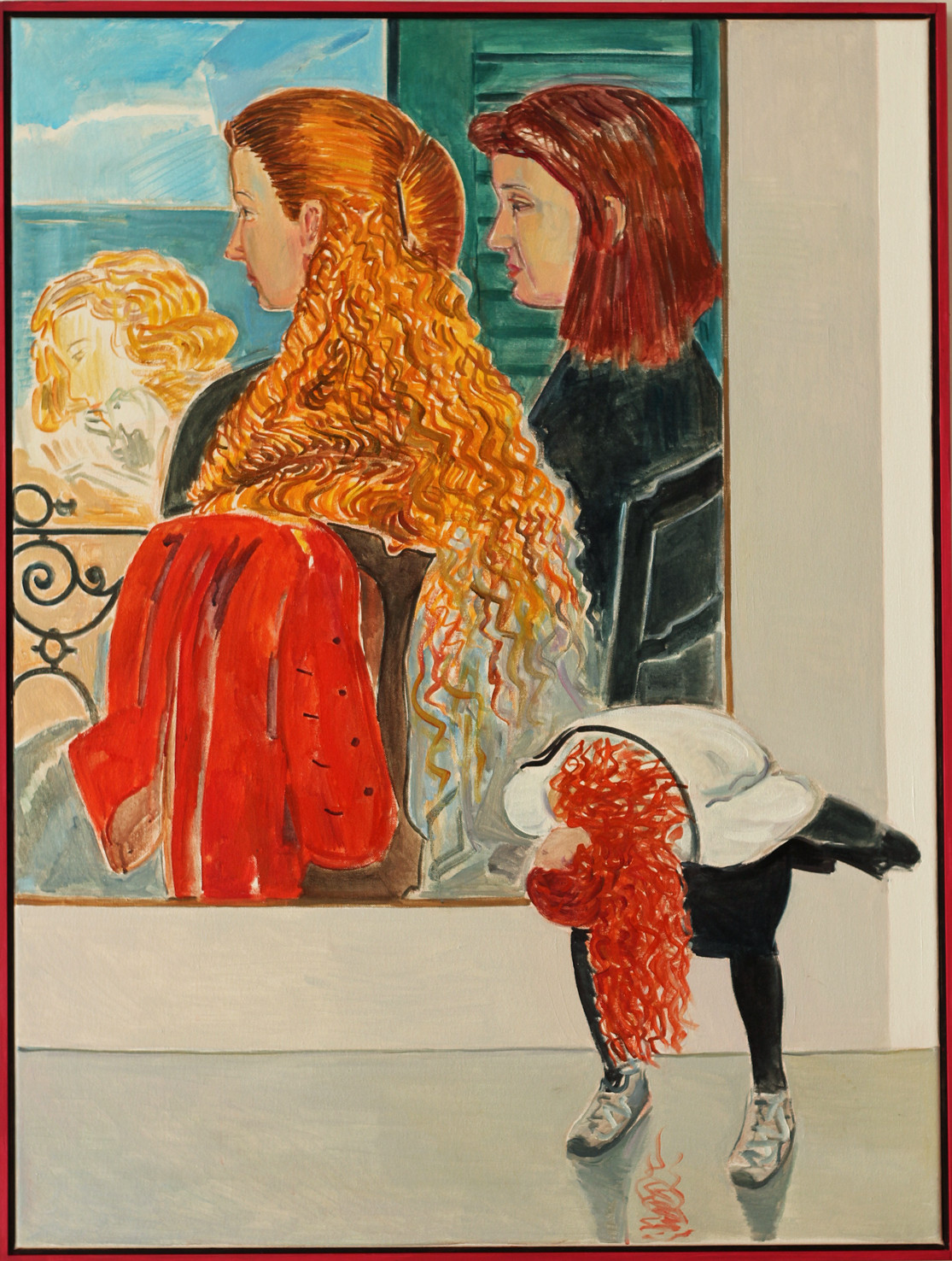 Søren Elgaard, Courbets piger