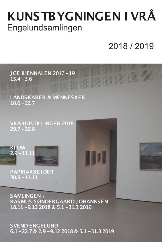 Udstillings- og Aktivitetsfolder 2018-19