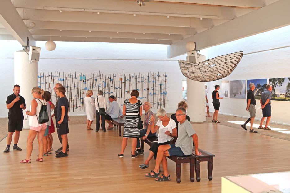 Vrå-udstilling 2018 - Kunstsal